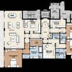 Infinity Longboat Key Bedroom Floorplan