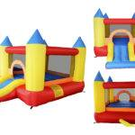 Inflatable Bounce House Slide Castle Mighty Moonwalk Colorful Toddler