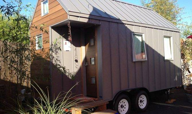 Inside America First Tiny House Hotel Spend Weekend