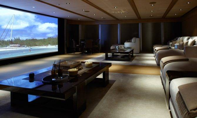 Inspirational Modern Home Movie Theater Design Ideas
