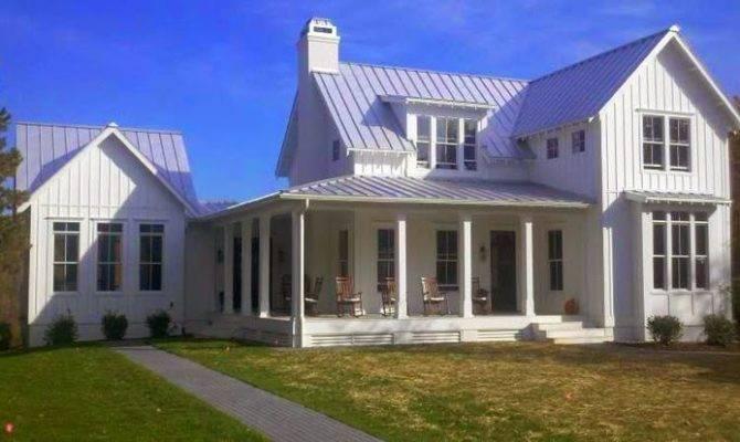 Inspired Design White Farmhouses
