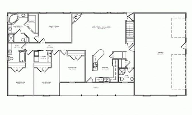 Beware There Are 15 4 Bedroom Ranch House Plans Will Blow Your Mind Home Plans Blueprints