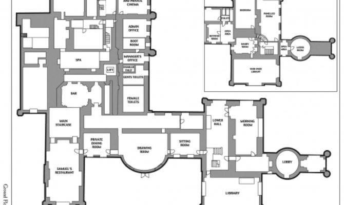 Inspiring Castle Blueprints Plans Sample House Floor