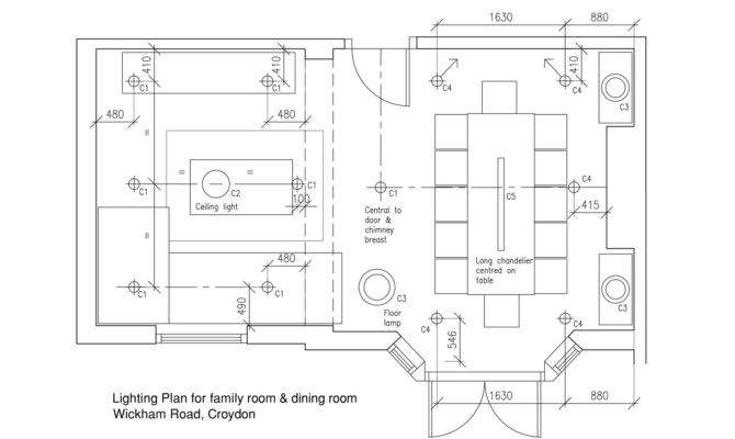 Inspiring Dining Room Plans Home Building