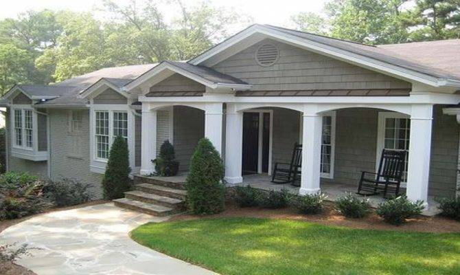 Inspiring Front Porch Ideas Ranch Style Homes