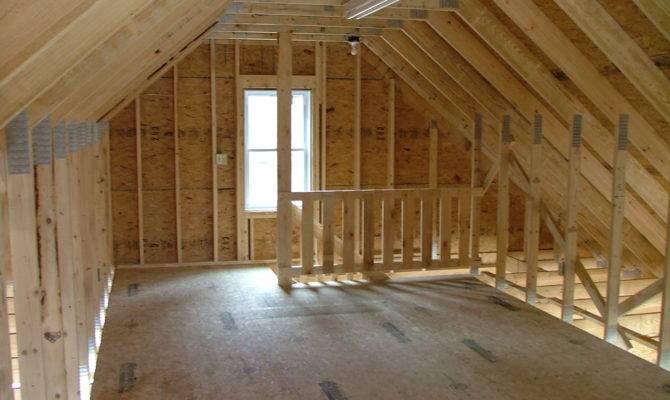 Inspiring Loft Garage Packages Home Building