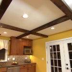 Installing Ceiling Beams Home Wood Beam Faux