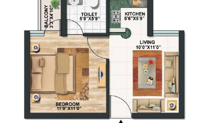 Interior Cool Design Studio Apartment Plans