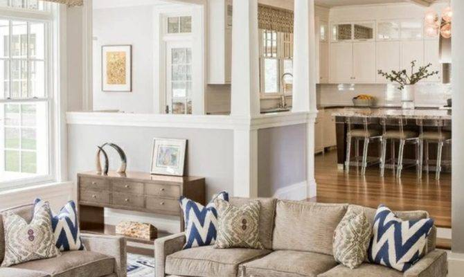 Interior Design Open Concept Living Room Kitchen