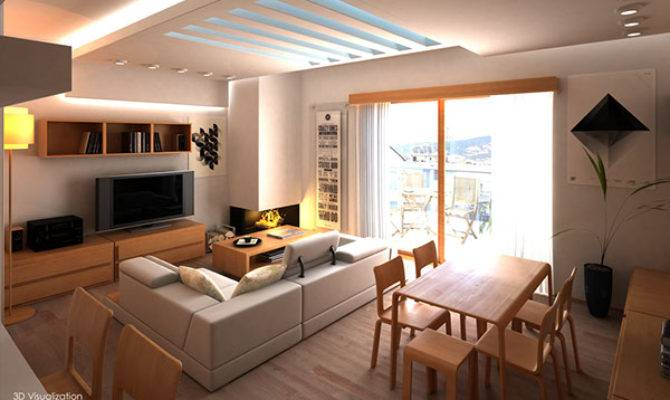 Interior Design Two Bedroom Apartment Behance