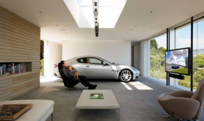 Interior Garage Designs Dream Car
