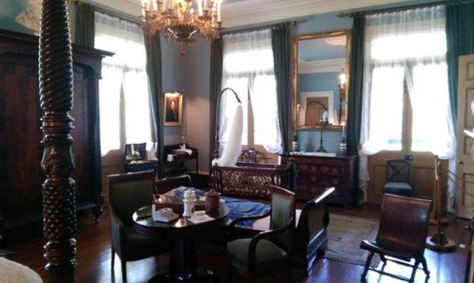 Interior Mansion Oak Alley Plantation