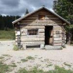 Invented Log Cabin Building Method Quick Garden