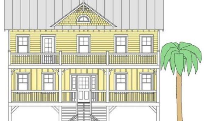 Inverted Floor Plan Coastal Home Plans