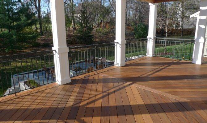 Ipe Wood Porch Flooring