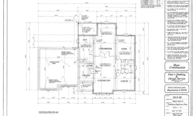 Isolated Footing Design Example Foundation House Plan