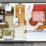 Isometric Views Small House Plans Architecture