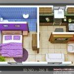 Isometric Views Small House Plans Indian