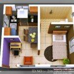 Isometric Views Small House Plans Kerala Design Idea
