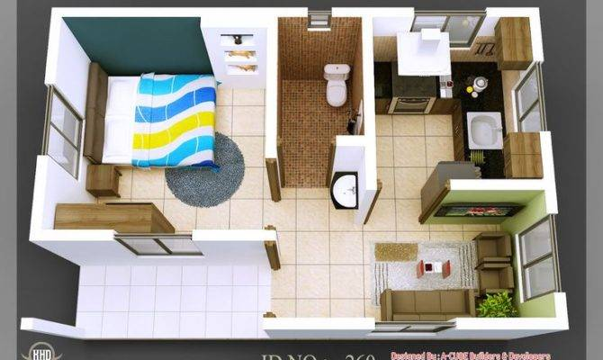Isometric Views Small House Plans Kerala Home Design