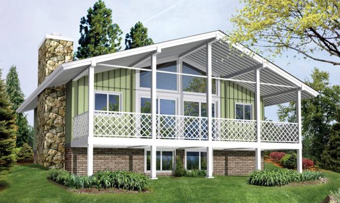 Jacinto Vacation Cabin Home Plan House Plans More