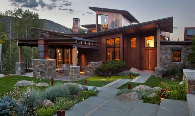 Japanese Inspired Ranch Home Asian Exterior Denver