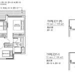 Jewel Buangkok Condo Floor Plan Bedroom Premium