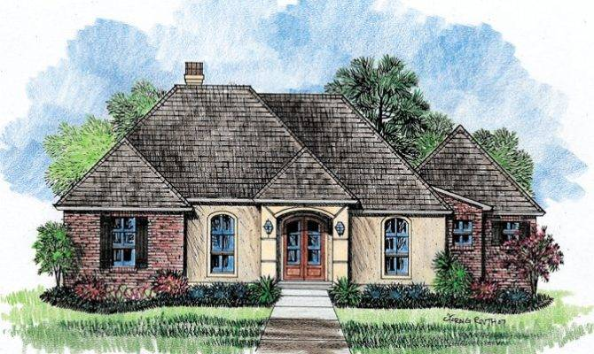 Jordynia Country French Home Plans