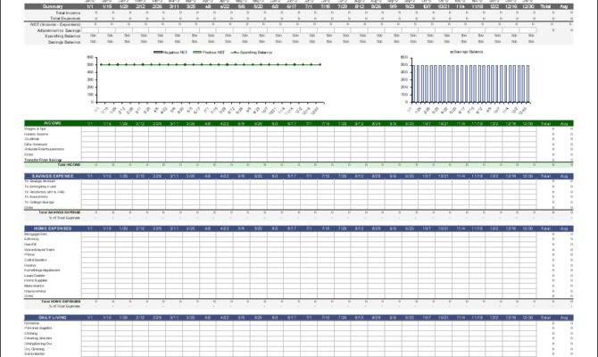 Jpeg Monthly Budget Planning Excel Template