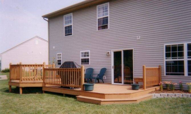 Jpeg Trex Decking Complete Deck Kit Greatrailing