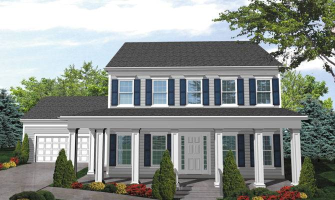 Judy Jane Colonial Home Plan House Plans More