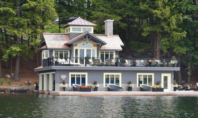 Just Things Thoughts Muskoka Boathouses Cottages