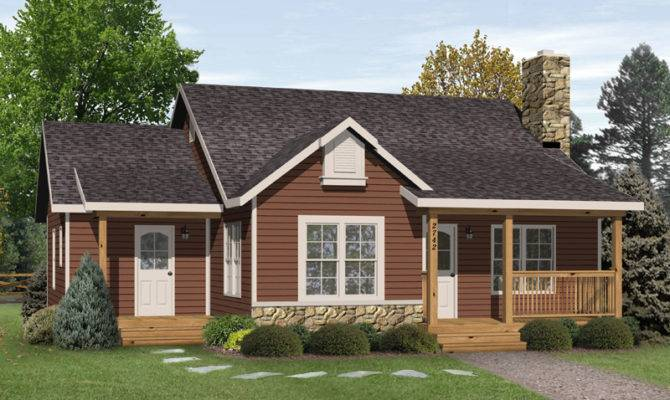 Kaiser Country Cabin Home Plan House Plans More