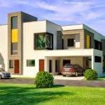 Kanal Corner Plot House Design Lahore Beautiful