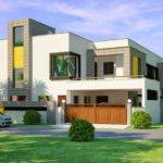 Kanal Corner Plot House Design Lahore Beautiful