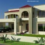 Kanal Plot House Design Europen Style Bahria Town Lahore