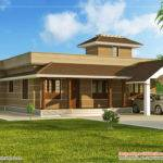 Kerala Home Design Floor Plans Feet Bedroom Single