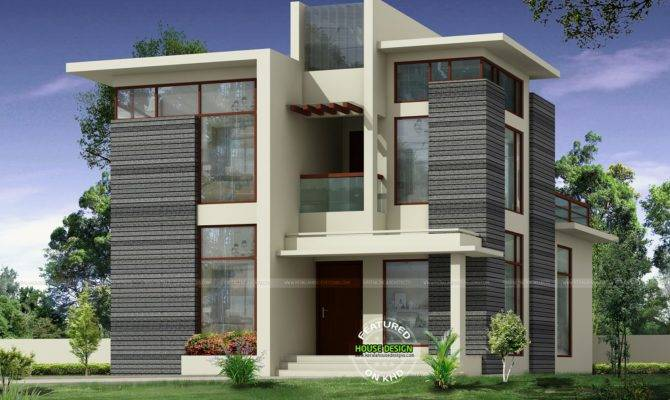 Kerala Home Design Floor Plans Modern