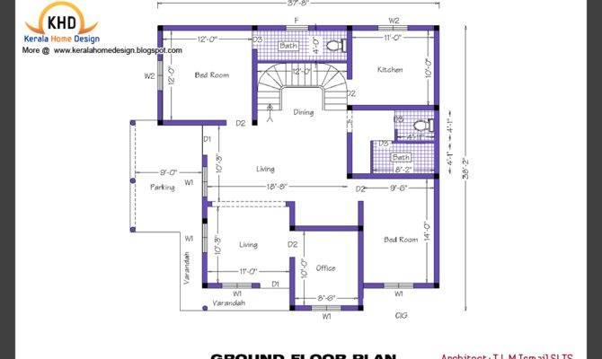 Kerala Home Design Floor Plans Plan Elevation