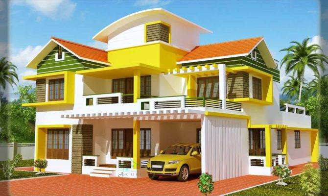 Kerala House Elevation Keralahouseplanner
