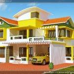 Kerala House Model Duplex Elevation