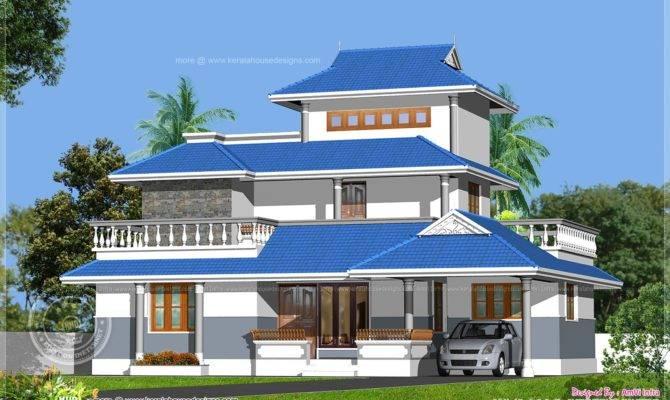 Kerala Model Home Design Feet