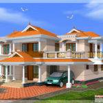Kerala Model Home Feet Design Floor Plans