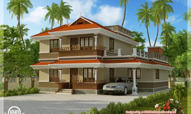 Kerala Model Home Plan Feet