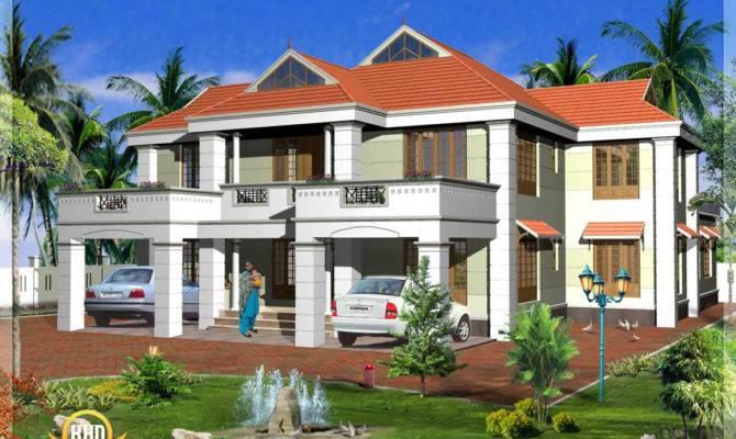 Kerala Model House Elevations Home Design Floor Plans