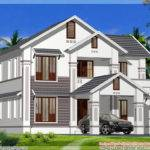 Kerala Model Sloping Roof House Home Appliance