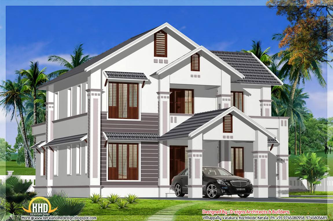 Kerala Model Sloping Roof House Home Appliance Home Plans Blueprints 47265
