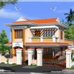 Kerala Model Villa Square Feet House Design Plans