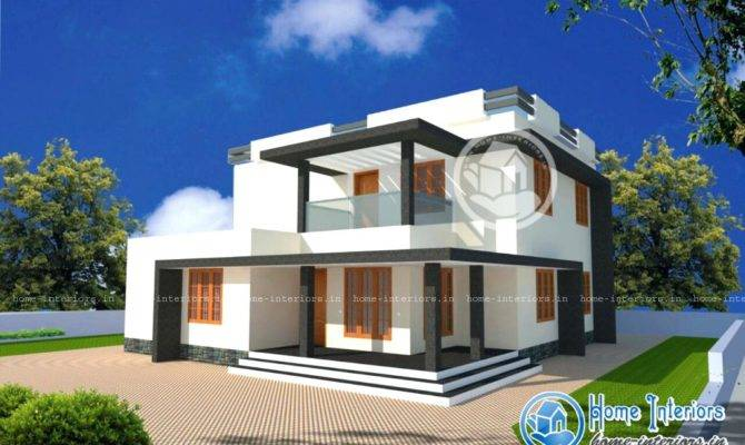 Kerala New Model Home Square Feet Amazing