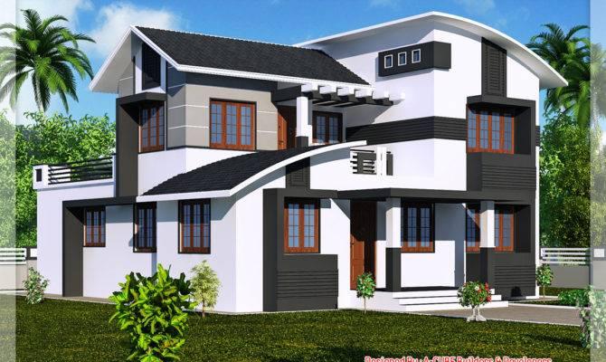 Kerala New Style House Photos Homes Floor Plans